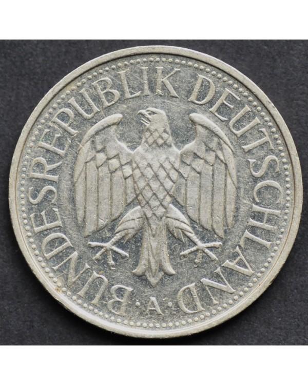 1 марка 1990 года ФРГ