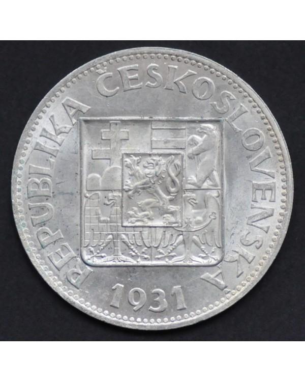 10 крон 1931 года Чехословакия
